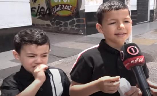 فيديو : طفل يوجه رسالة لوالده لم يره لمدة 3 أشهر