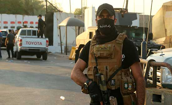 خلايا الكاتيوشا تطل.. ضبط منصة تستهدف وسط بغداد