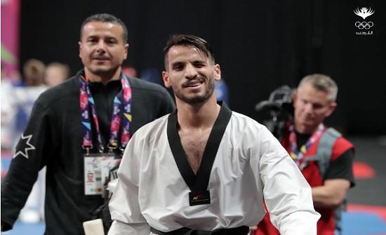 أبو غوش إلى نهائي بطولة العالم للتايكواندو