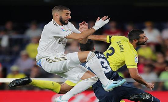 بالصور : ريال مدريد يواصل نزيف النقاط بتعادل ضد فياريال