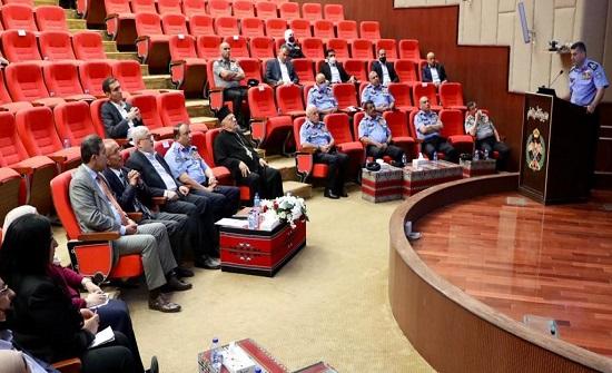 مدير الامن العام يلتقي رئيس واعضاء المجلس الوطني لحقوق الانسان