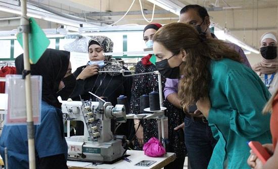 اتفاقية تعاون بين نهر الأردن وجرش للملابس لتوفير فرص عمل