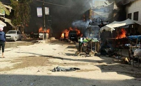 عشية العيد.. مقتل اثنين في قصف للنظام السوري بريف حلب