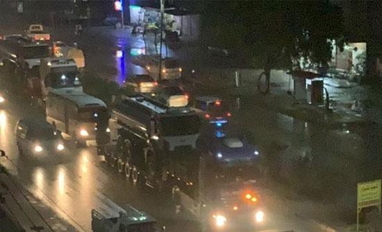 بالفيديو : قافلة تابعة للتحالف الدولي دخلت القامشلي