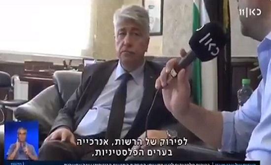 فيديو : تصريح انهزامي لوزير بالسلطة : قرارات اسرائيل لن تجرنا لتخريب بلدنا