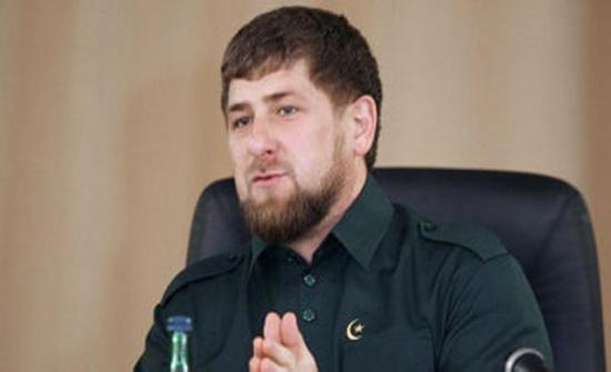 الرئيس الشيشاني يغادر المملكة