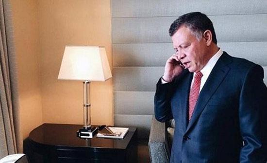 الملك يتلقى اتصالا هاتفيا من رئيس الوزراء الباكستاني