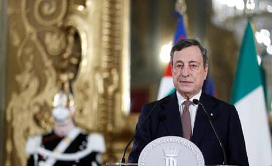 إيطاليا.. دراغي يفوز بتأييد البرلمان بحكومته الجديدة