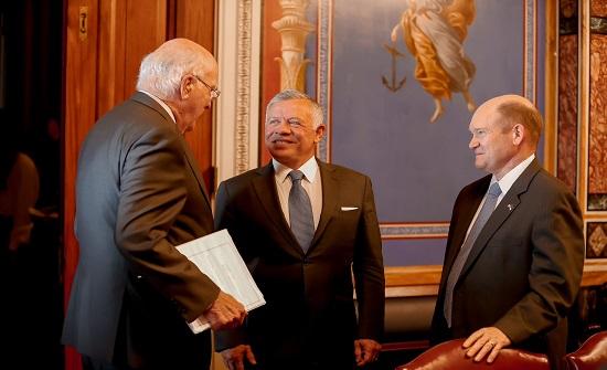 أعضاء بمجلس الشيوخ يؤكدون دعمهم لدور الأردن في تعزيز استقرار المنطقة