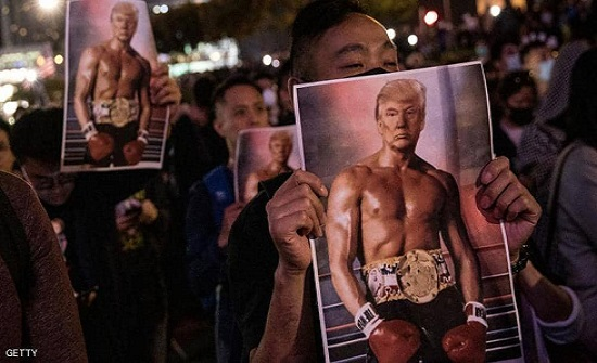 رسالة إلى ترامب من متظاهري هونغ كونغ