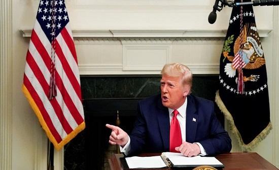 ترمب يؤكد: سأغادر البيت الأبيض.. في هذه الحالة