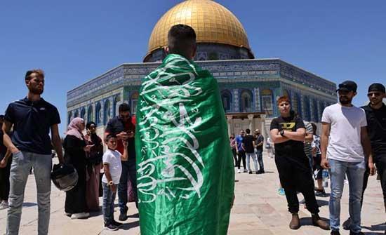 """مشروع قانون ألماني لحظر علم """"حماس"""""""