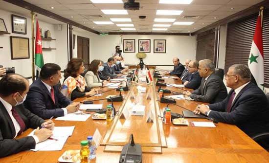 بدء اجتماعات وزارية أردنية سورية لتعزيز التعاون في عدة مجالات