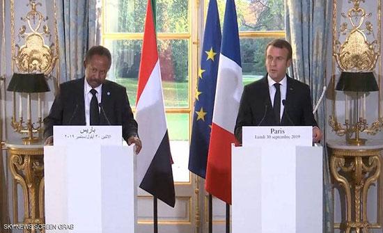 بالفيديو : مباحثات فرنسية سودانية.. وماكرون يؤكد دعم باريس لحكومة حمدوك