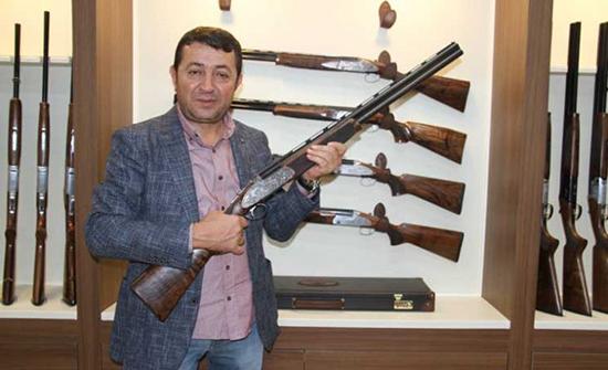 صور : بندقية صيد تركية تعادل سعر سيارة