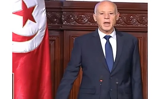 بالفيديو  : قيس سعيد يؤدي اليمين الدستورية رئيسا لتونس