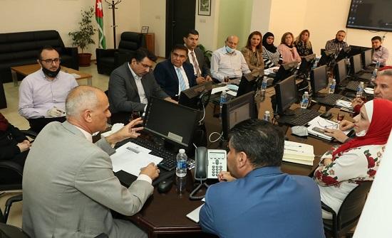 """الاستاذ الدكتور خالد الطراونه يشدد على ضرورة تميز وجودة المخرجات الاكاديمية لـ""""عمان العربية"""""""