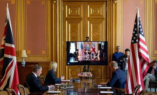 لندن: محادثات التجارة مع واشنطن تحرز تقدماً إيجابياً
