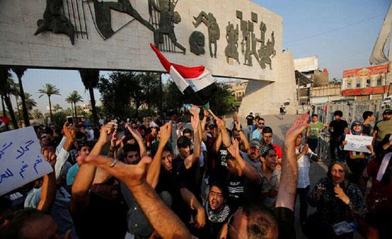 رئيس وزراء العراق يأمر قائد مكافحة الإرهاب باستخدام كافة التدابير لإنهاء الاحتجاجات