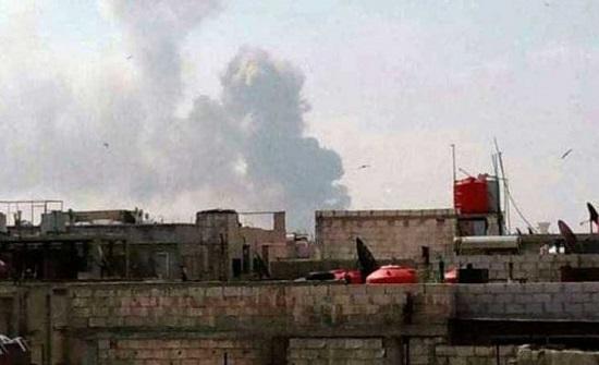 مقتل ثلاثة عناصر موالين لإيران في القصف الإسرائيلي ليلاً على سوريا