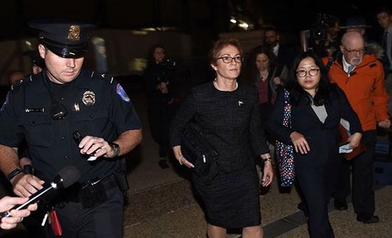 سفيرة أمريكية سابقة تدلي بشهادة ضد ترامب أمام الكونغرس