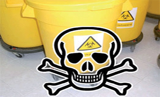 الاردن يصدر نحو الف طن من النفايات الخطرة