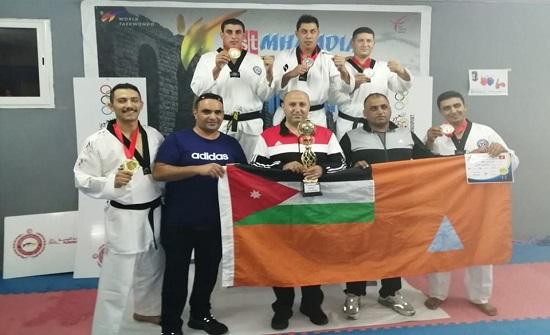 الدفاع المدني يحصد(5) ميداليات ملونة في بطولة تونس الدولية للتايكوندو