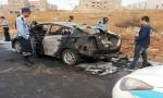 """شاهدوا فيديو احتراق مركبة عمان ووفاة سائقها بسبب """" البطارية """""""