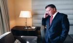 بالفيديو : الملك يطمئن على المصابين الأردنيين في فرنسا