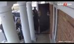 أمريكا :   أردنية تفتح أبواب المسجد لإنقاذ زملائها (فيديو)