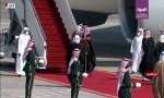 شاهد لحظة استقبال ولي العهد السعودي أمير قطر