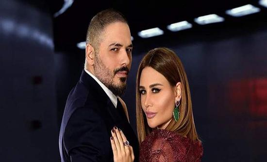 رامي وداليدا عياش في رومانسية الثلوج .. صور