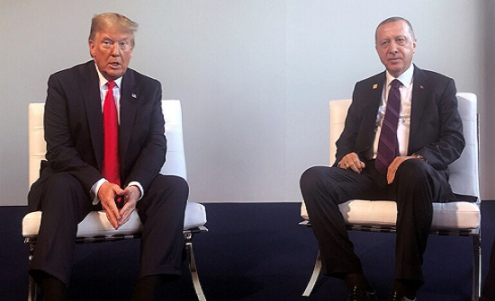 ترمب وأردوغان يبحثان اخر التطورات في ليبيا