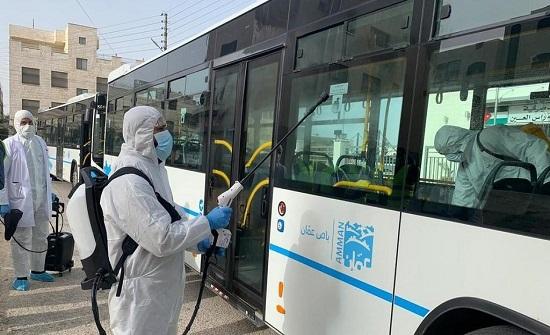 أمانة عمان تبدأ توزيع مادة الخبز للمواطنين بواسطة حافلات