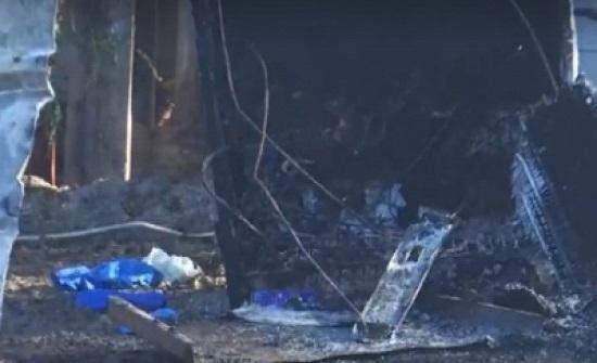 الدفاع المدني يكشف عن سبب حريق الشونة الذي راح ضحيته 13باكستانياً