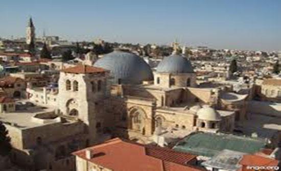 """""""كنائس القدس"""" تعلن دعمها لبطريركية الروم الأرثوذكس المقدسية"""