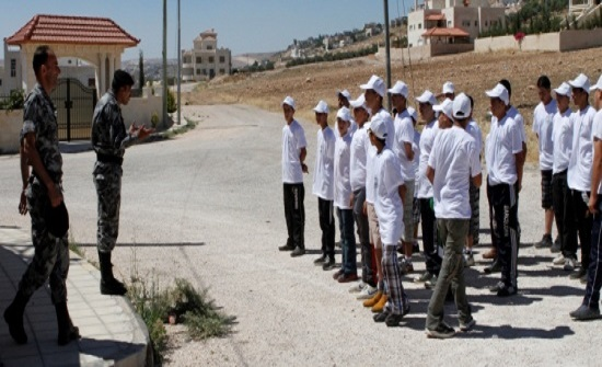 عجلون: اختتام معسكر أصدقاء الشرطة
