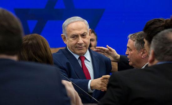 """نتنياهو يجدد الدعوة لتشكيل """"حكومة وحدة"""" """"دون العرب"""""""