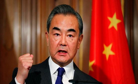 وزير الخارجية الصيني يترأس جلسة نقاشية لمجلس الأمن حول الشرق الأوسط