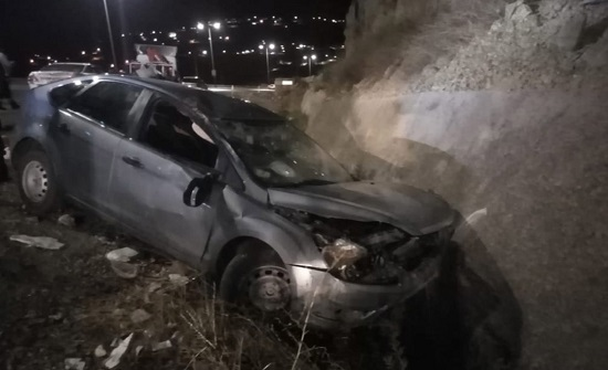 وفاة سائق واصابة آخر اثر حادث تصادم  في جرش