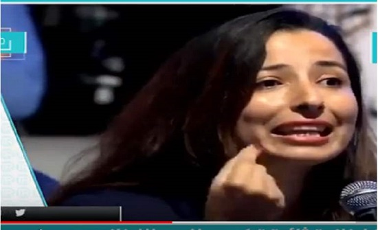 بالفيديو : سيدة لبنانية تشعل مواقع التواصل