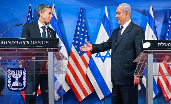 نتنياهو يتقدم من واشنطن بطلب بخصوص إيران ويناقش مع بلينكن الأمن الإسرائيلي والأحداث الأخيرة
