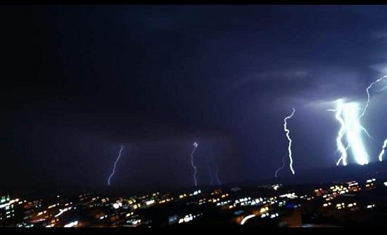 الآن : أمطار رعدية في عمان ومحافظات مختلفة
