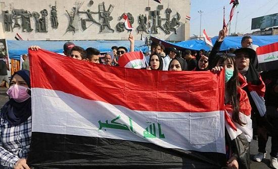 قتيلان وعشرات الجرحى بقابل الغاز المسيل للدموع في بغداد