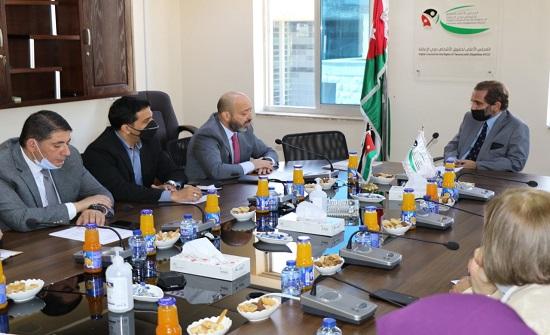 الأمير مرعد يلتقي الفريق الوطني للحماية من العنف الأسري