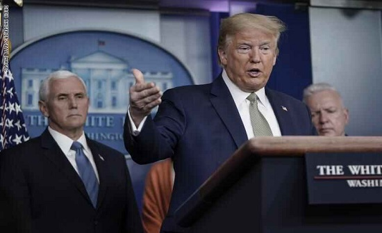 ترامب يعلن عن مجموعة إجراءات جديدة بمواجهة كورونا
