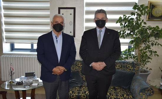 وزير التنمية الاجتماعية يستقبل السفير الأسترالي