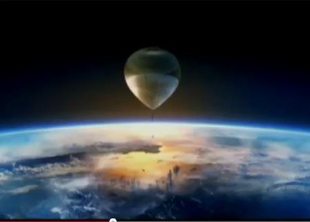 في اّخر لحظة : تأجيل القفزة المنتظرة من الفضاء الى الأرض بسبب الاحوال الجوية ( شاهدوا صوراً فريدة من محاولة القفز المؤجلة )