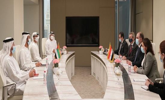 الإمارات وسوريا تبحثان توسيع الشراكة الاقتصادية