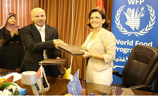 اتفاقية تعاون بين الاحصاءات وبرنامج الأغذية العالمي